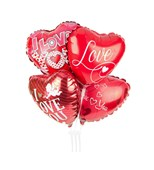 "Balloons and Cards: ""I Love You"" Balloon"